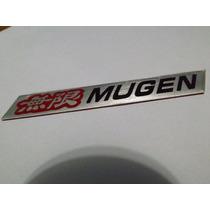 Emblema Adesivo Mugen Honda Civic Fit Si Accord Raridade