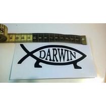 Adesivo Peixe Darwin Com Frete Grátis
