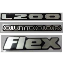 Kit Adesivo L200 Outdoor Flex Resinado