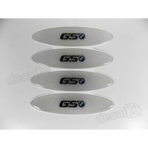 Adesivos Capacete Bmw Gs Resinados Refletivo 2,4x10 Cms