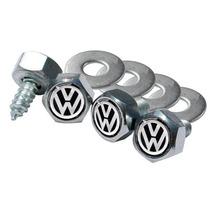Kit 4 Parafusos E Arruelas P/ Placas Volkswagen Dacar Parts