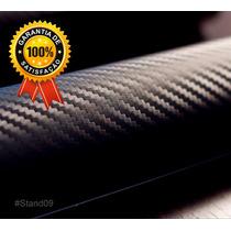 Adesivo Envelopamento Fibra De Carbono Moto Carro Coluna