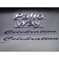 Kit De Emblemas Palio + Way + 2x Celebration 04/... - Bre
