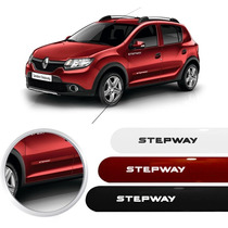 Jogo Friso Lateral Do Sandero Stepway 2015 - Todas As Cores