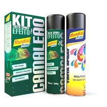 Tinta Spray Multiuso Camaleão Vermelho - Aeroflex | 3157
