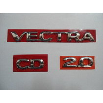 Kit De Emblema P/ Vectra + Cd + 2.0 96/... - Bre