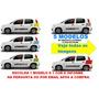 Kit Faixa Lateral Adesivos Carro Fiat Novo Uno Acessórios