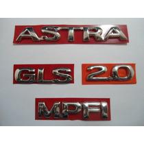Kit De Emblema P/ Astra + Gls + 2.0 + Mpfi 96/... - Bre
