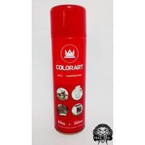 Tinta Spray Vermelho Alta Temperatura Colorart 300ml - 600°