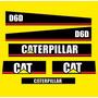 Jogo De Adesivos Para Trator Caterpillar D6d Frete Grátis