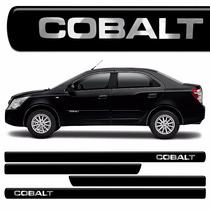 Jogo Friso Lateral Cobalt Pintado Gm Cobalt Preto