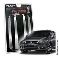 _friso Para-choque Cromado Honda New Civic 2014 2015 Jg 4pçs