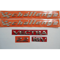Kit De Emblema P/ Vectra+ 2.2+ 16v+ 2 Challenge 96/...- Bre