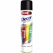 Tinta Preta Fosco Spray Para Madeira E Artesanato