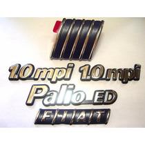 Kit Emblemas Palio Ed + 2x 1.0 Mpi + Capo E Mala 96/99 - Bre