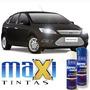 Tinta Spray Automotiva Ford Preto Gales + Verniz