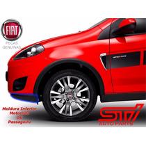 Moldura Inferior Para Lamas Fiat Palio Sporting - Original