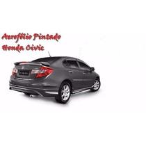 Aerofólio Honda Civic 2012 2013 2014 2015 2016 Pintado