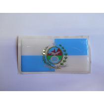 Adesivo Bandeira Resin. Auto Rel. Rio De Janeiro 9,0cmx4,5cm