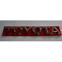 Emblema Toyota Tampa Traseira Hilux - Otima Qualidade