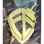 Escudo Da Fé Adesivo Para Carro Em Polipropileno Dourado