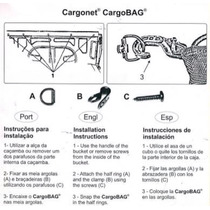 Kit De Argolas Para Fixar No Porta Malas Universal 4 Peças
