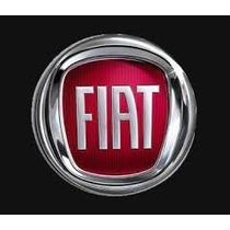 Emblema Fiat Resinado 48mm Vermelho Auto Colante