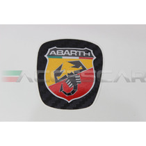 Adesivo Abarth P/ Volantes Fiat