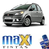 Tinta Spray Automotivo Fiat Cinza Scandium + Spray Verniz