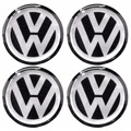 Calotinha Resinada Volkswagen Vw Calota Ou Roda 4peças 110mm