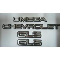 Emblemas Chevrolet + Omega + 2 Gls - Mmf Auto Parts.