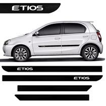 Friso Lateral Do Etios 2012 2013 2014 2015 - Tipo Borrachão