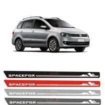 Kit Mod2 Adesivo Lateral Faixa Para Vw Spacefox 2012/