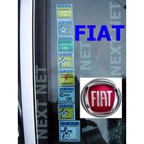 Adesivo Selos Ok Qualidad Parabrisa Fiat Vidro Carro Zero Km
