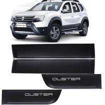 Kit Friso Lateral Renault Duster Modelo Largo Com Escrita