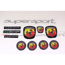 Kit Nº1 Adesivos Abarth Supersport P/ Fiat Bravo