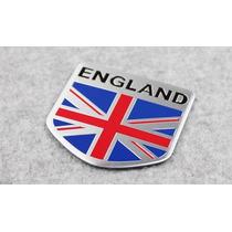 Adesivo Tuning - 3d England - Inglaterra - Alumínio