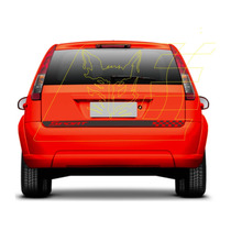 Adesivos Ford Fiesta Faixa Sport Tuning Carros Não É Frisos