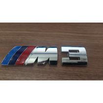 Emblema Tampa Traseira Bmw M Motorsport M3 M5 118i 120 320