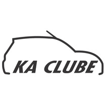 Adesivo Decorativo Parabrisa Carro Club - Clube Do Ford Ka