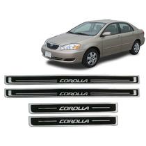 Jgo Soleira Resinada Preta Toyota Corolla 2003 A 2007