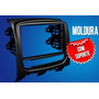 Moldura Painel Dvd 2 Din Fiat Idea 2013/2014