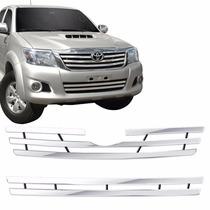 Sobre Grade Inox Toyota Hilux 2012 2013 2014 2015 2016 Maxx