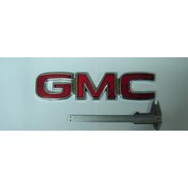 Emblema Gmc Grande C/ Travas P/ Linha Chevrolet - Bre