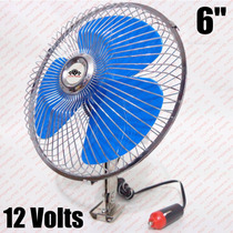 Ventilador 12v Carro Vam Automotivo Mini 6 Polegadas (17cm)