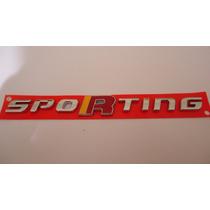 Emblema Sporting Fiat Palio Bravo Punto Novo Uno Idea Stilo