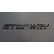 Adesivos Stepway P/ Porta Malas Renault Sandero 12/...- Bre