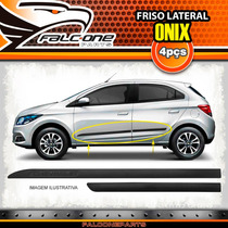 Friso Lateral Personalizado Chevrolet Onix 2012 A 2015