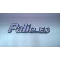 Emblema Cromado C/ Fundo Azul Palio Ed Para Fiat 96/99 - Bre