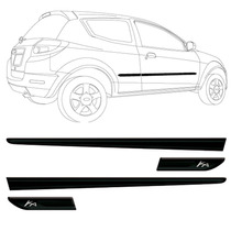 Kit Friso Lateral Ford Ka 09/13 Modelo Largo Personalizado